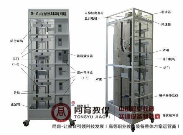 TY-1DT 六层透明电梯模型
