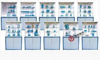 TYMDMD-2  精选型机械设计陈列柜(10个分柜、带智能语音讲解)