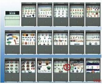 TYMDMD-1  机械设计陈列柜(18个分柜、带智能语音讲解)