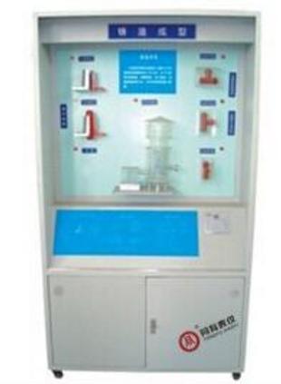 TYQW-A 趣味自动机械系统展示台陈列柜