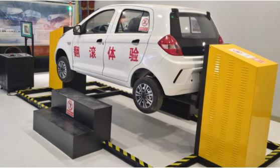 TY -FG 20 型 汽车翻覆模拟体验系统装置